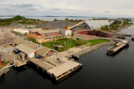 Behandlingsanlegget på Langøya