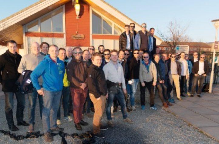 Nok et hyggelig besøk: Round Table på Langøya!