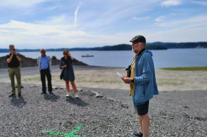 Temavandringer på Langøya i august